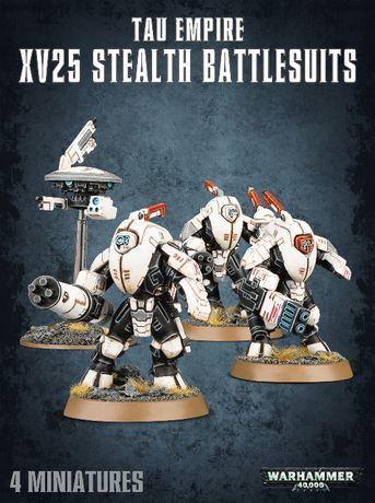 Tau Empire XV25 Stealth Battlesuits Warhammer 40 000