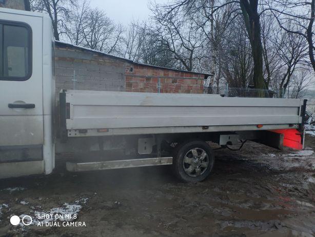 Paka CARPOL zabudowa aluminiowa Master Movano