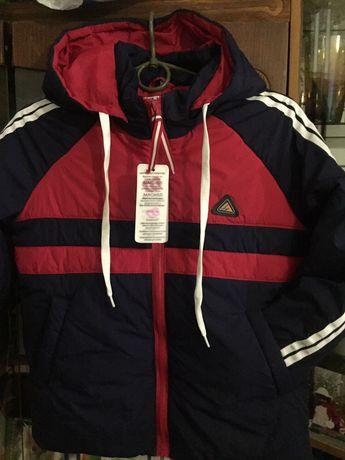 Курточка на мальчика (демисезонная 38- 40 размер)