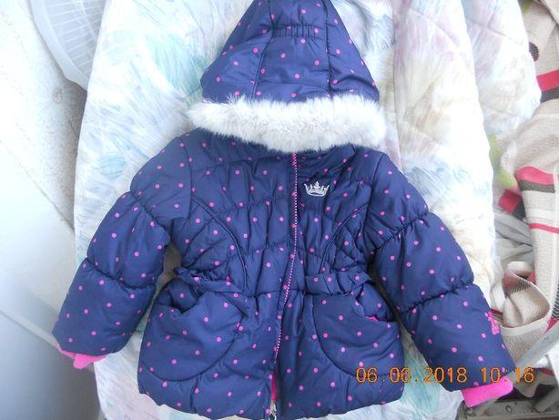 Дешево!Курточка Zeroxposur на дівчинку від 1 до 2 років фірмова