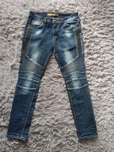 Spodnie dżinsy r 40 Monday Premium