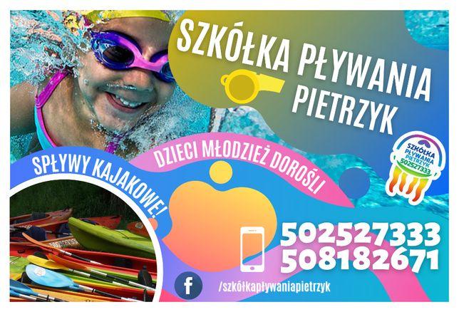 Szkółka Pływania Dzieci Młodzieży  ,Spływy kajakowe Najtańsza