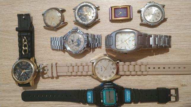 Годинники часы наручні наручные 9 шт .Уточнюйте про наявність та ціни