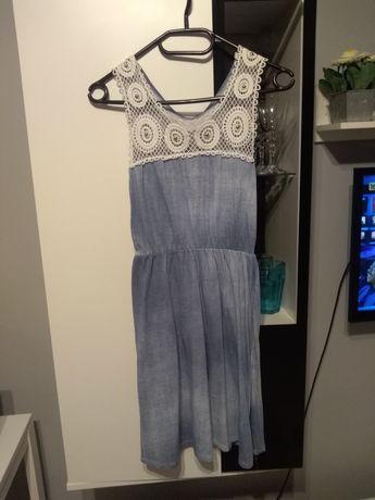 Sukienka z koronką, rozmiar s/m