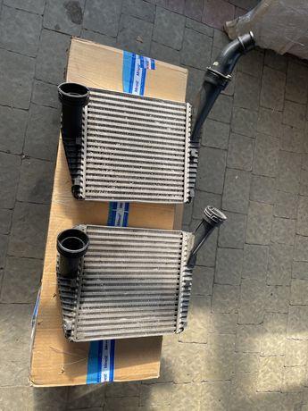 Радиатор, интеркулер 7L0145804A 7L6145804B 7P6145804A VW Touareg, Q7.