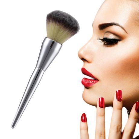Pędzel do makijażu do pudru duży f-my Pinpai nowy w opakowaniu