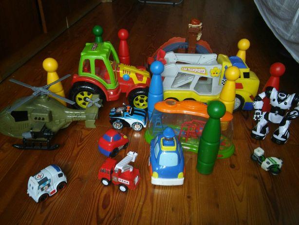 Zabawki dla chłopca paczka zabawek samochód tor traktor ...