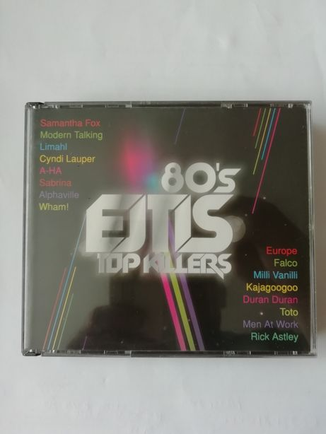 Box 3 płyt CD 80 s ejtis top killers