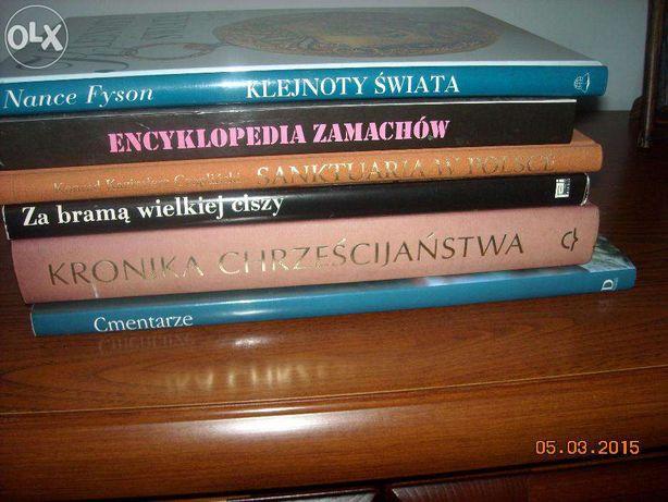 Sprzedam książki:-albumy:Cmentarze,Klejnoty świata,Sanktuaria