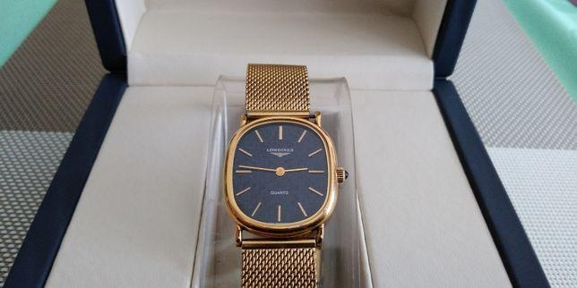 Longines pozłacany oryginalny szwajcarski zegarek