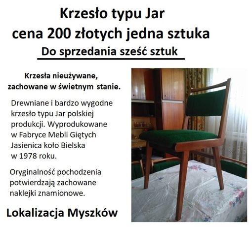 """Krzesła typ """"JAR"""" FMG Jasienica"""