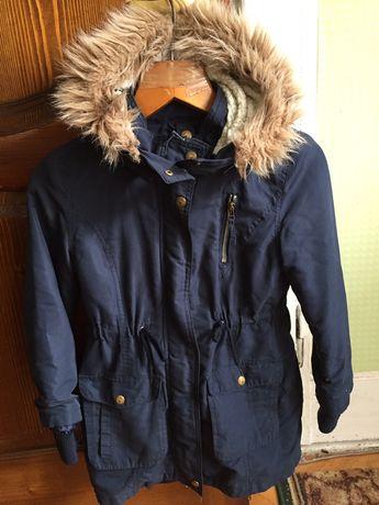 Курточка парка для хлопчика 7-8