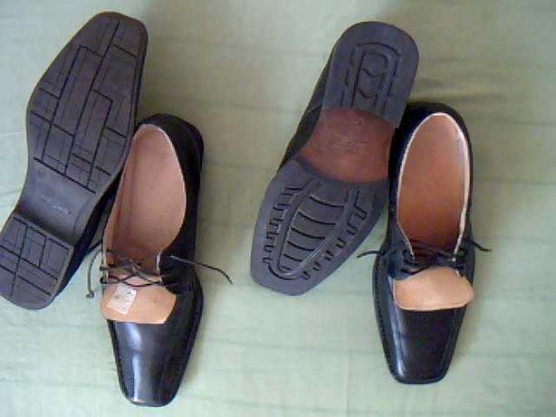 Obuwie, półbuty/buty męskie z kwadratowym noskiem.