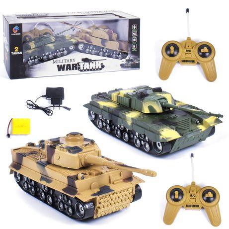 """Танковый бой на радиоуправлении """"War Tank"""" QUAN SHENG"""
