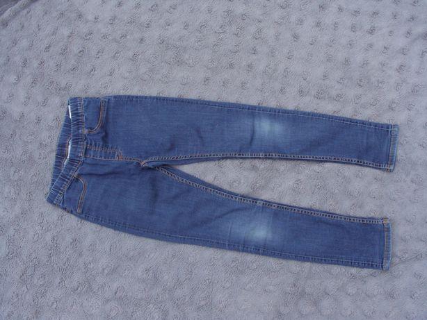 Legginsy jeansowe H&M 128
