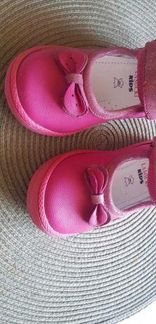 Buty Lasocki skórzane 15 cm (23)dla dziewczynki
