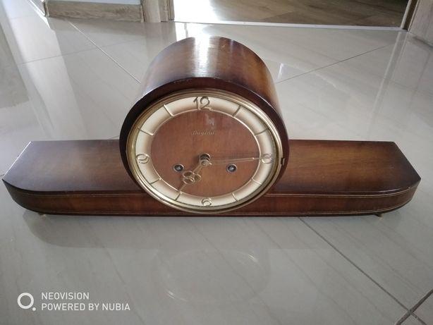 Piekny stary ostateczna cena antyczny zegar nakominkowy Dugena, drewno