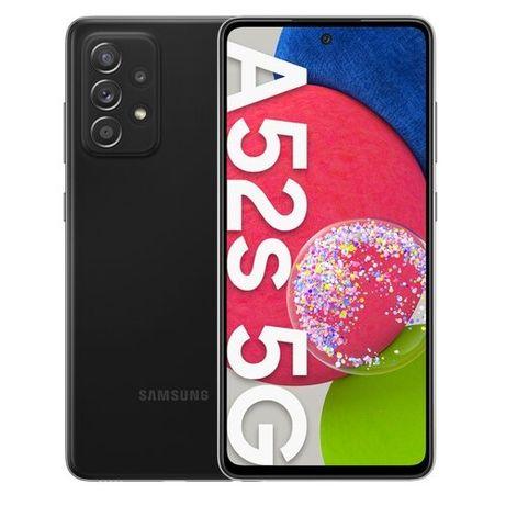 Samsung Galaxy A52s 5G Black + oryginalne etui Silicone Cover Black