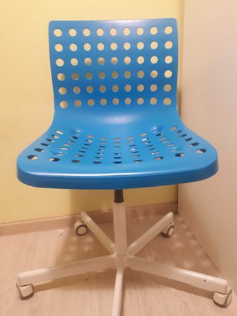 Krzeslo ikea niebieskie