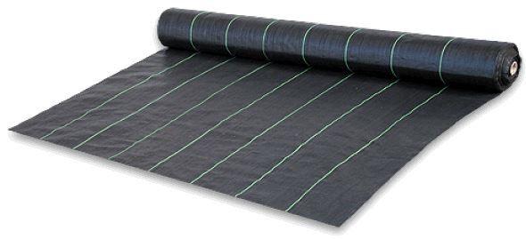 Агроткань 70 гр/м2, (1,6*100м) чёрная, для мульчирования. Со скидкой
