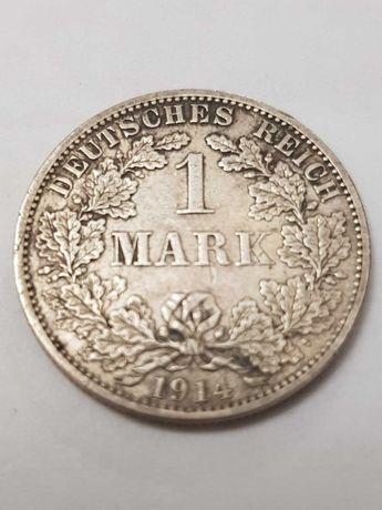 Продам монету  1 Марку  Германия 1914 г