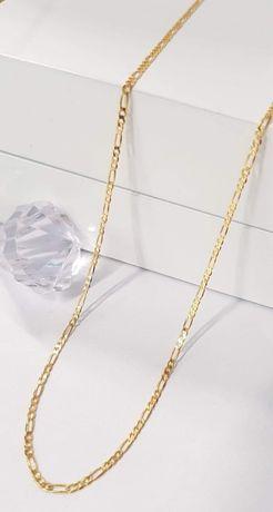 Nowy złoty łańcuszek próby 333. Długość 50cm.
