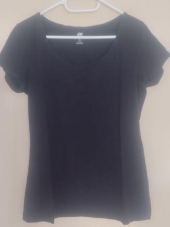 Bluzka damska czarna l