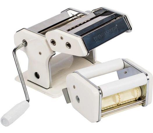 Ручная Лапшерезка BIOWIN с дополнительной насадкой для равиоли.