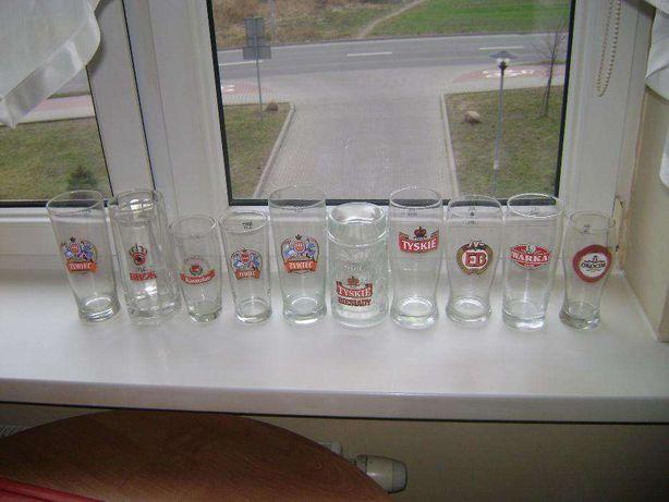 Kufle od piw i szklanki