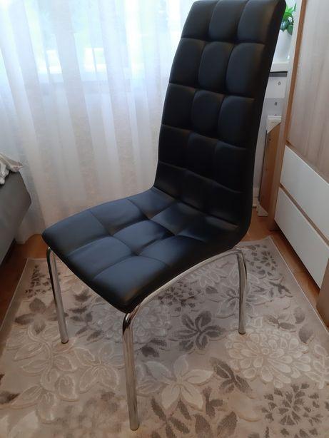 Krzesło z eco skóry