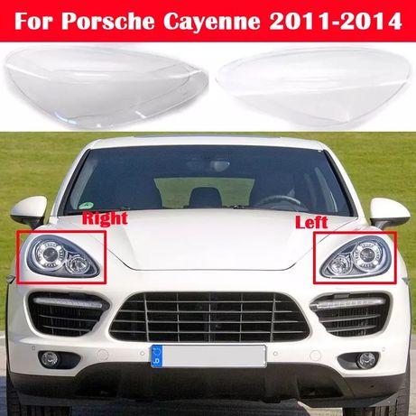 Стекла на фары стекла на Porsche Cauenne 958 2010-2014