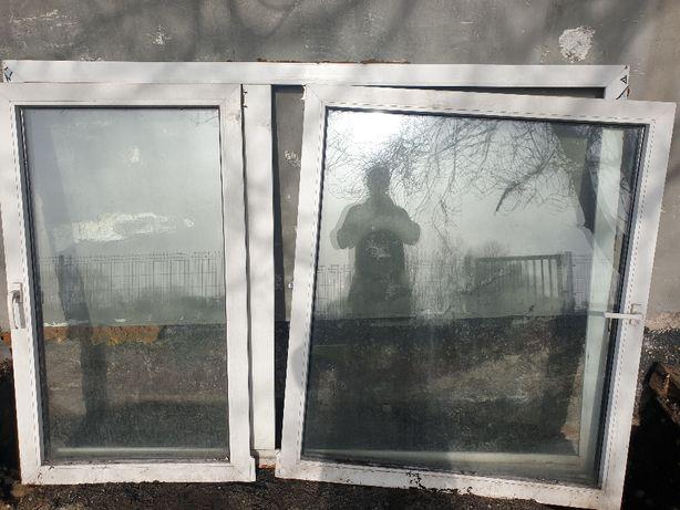 Okno PCV 206x144cm białe