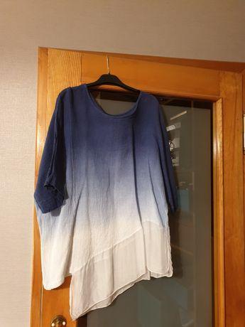 Bluzeczka z Lnu.