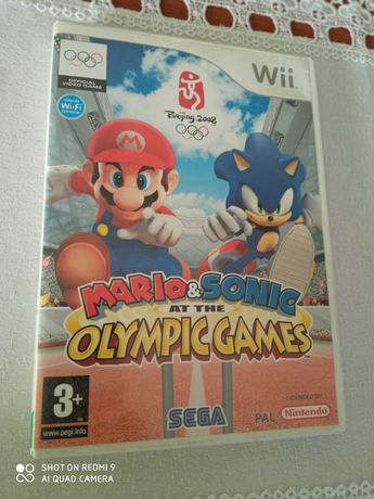 gra na Wii Mario & Sonic Olimpic games