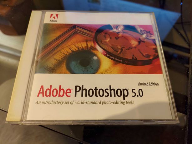 CD Software Abobe Photoshop 5.0 Limited Edition