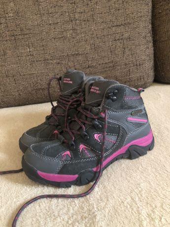 Mountain warehouse buty zimowe trekkingowe na zime trapery 33 skórzane