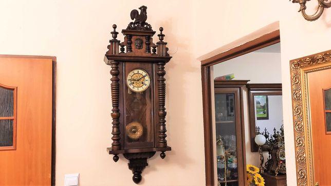 Junghans ładny, stylowy zegar wiszący