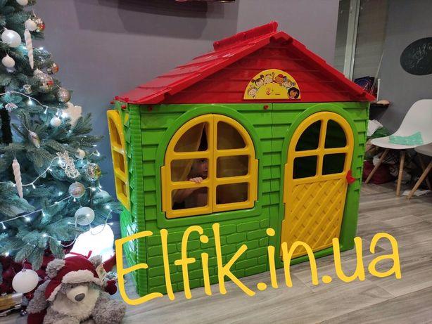 Домик детский пластиковый / Дитячий ігровий будиночок для дітей