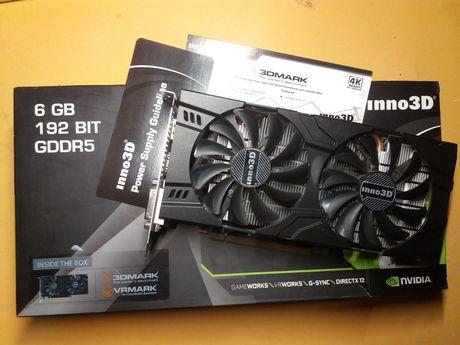 Видеокарта gtx 1060 6Gb Відеокарта Nvidia Geforce gtx 1060 не рабочая