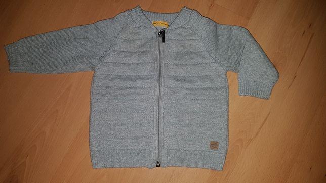 Sweterek, bluza firmy Zara rozmiar 6-9 m-cy (74). Stan bdb