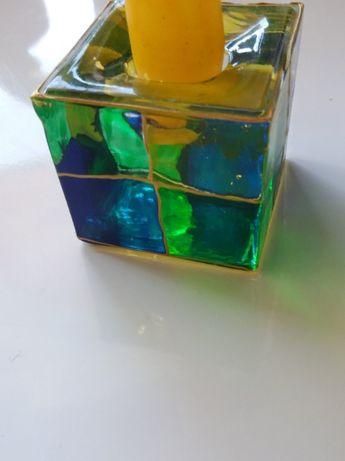 swiecznik szklany