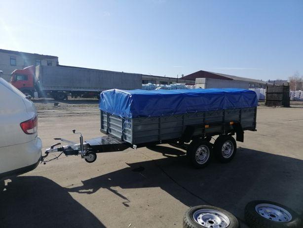 Прицеп Двухосный Тормозной КРД 128 для легкового авто и буса.