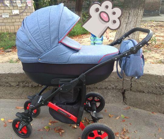 Детская коляска camarelo sevilla 2 в 1