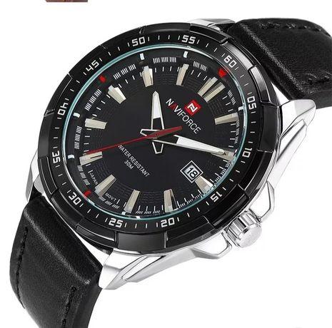 Zegarek męski Naviforce z datownikiem i pudełkiem na prezent