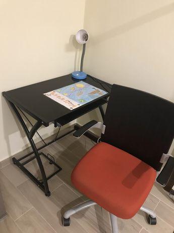 Conjunto secretária+cadeira