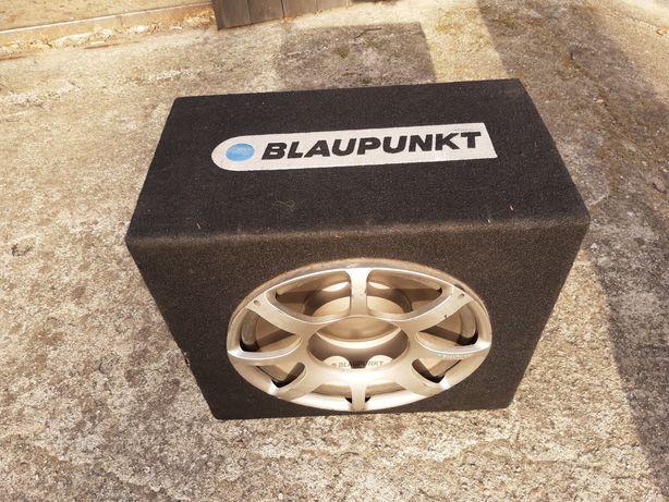 Skrzynia basowa Blaupunkt + wzmacniacz 900watt