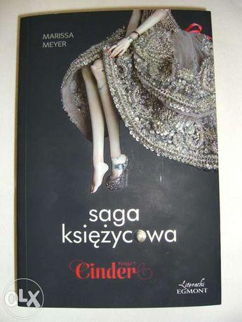 Książka: Marissa Meyer, Cinder Saga Księżycowa Księga 1