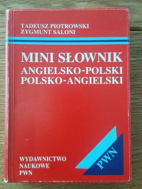 Mini Słownik angielsko-polski polsko-angielski - T. Piotrowski