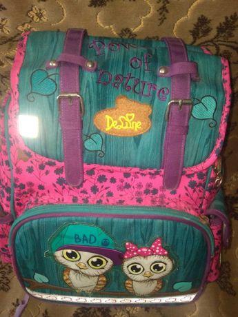 Рюкзак школьный для девочки 1-4й классы DeLune
