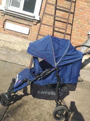 Детская коляска (синяя)